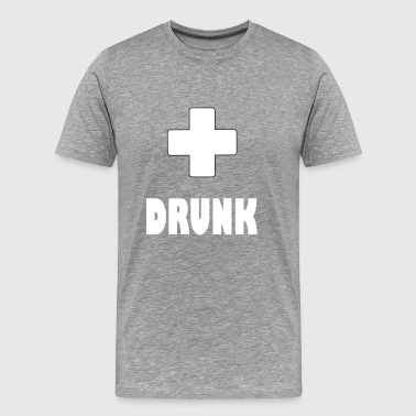 drunk plus - Men's Premium T-Shirt