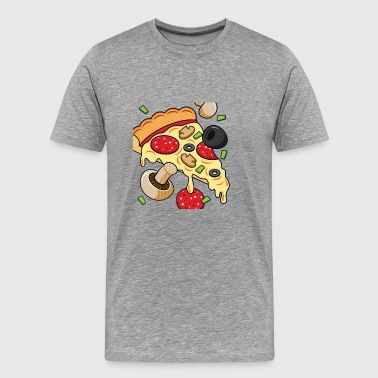 PIZZA CHAOS - Men's Premium T-Shirt