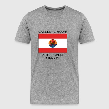 Tahiti Papeete Mission LDS Mission Called to - Men's Premium T-Shirt