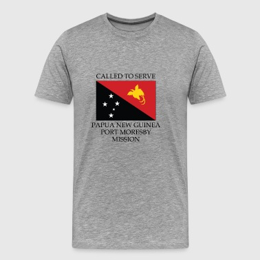 Papua New Guinea Port Moresby LDS Mission Called - Men's Premium T-Shirt