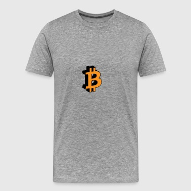 bitcoin - Men's Premium T-Shirt