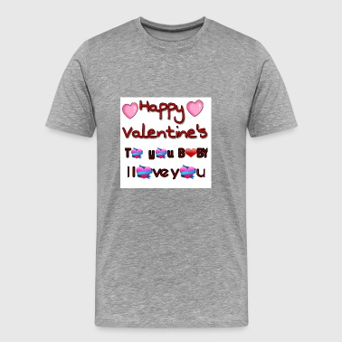 Valentine's day - Men's Premium T-Shirt