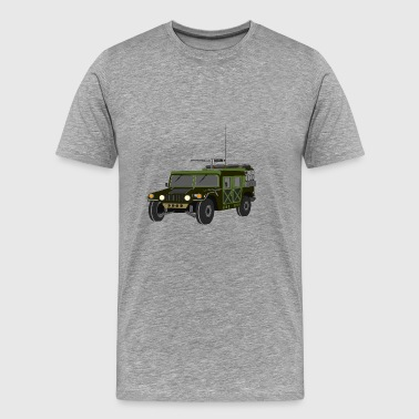 armoured car - Men's Premium T-Shirt