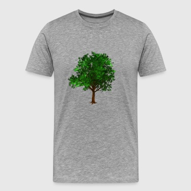 tree baum laubbaum nature wald woods forest - Men's Premium T-Shirt