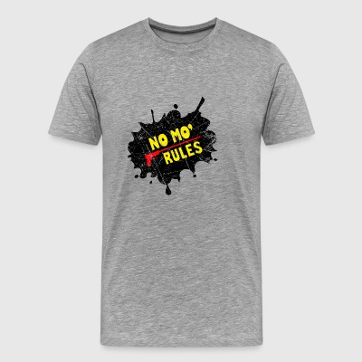 no mo rules - Men's Premium T-Shirt