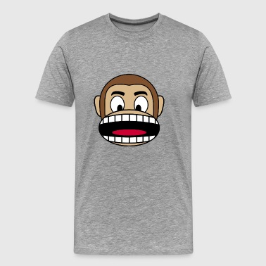 Angry Monkey - Men's Premium T-Shirt
