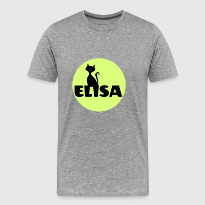 Elisa first name - Men's Premium T-Shirt