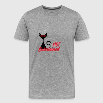 Will your cat become a zombie? - Men's Premium T-Shirt