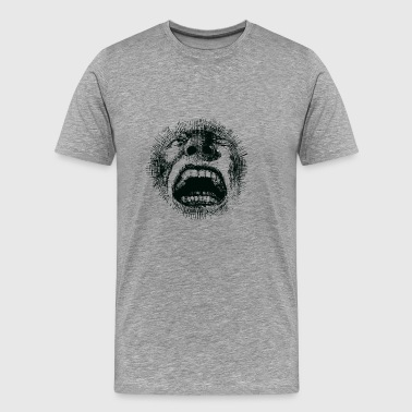 The big scream - Men's Premium T-Shirt