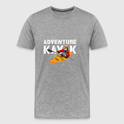 BadgeWork Kayak - Men's Premium T-Shirt