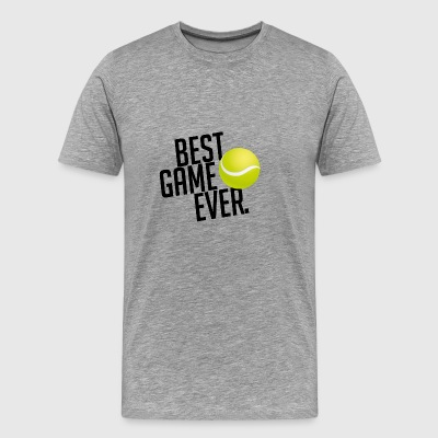 BEST GAME EVER TENNIS GIFT - Men's Premium T-Shirt