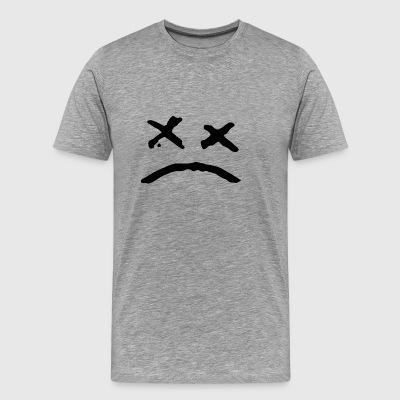 Sad Face - Men's Premium T-Shirt