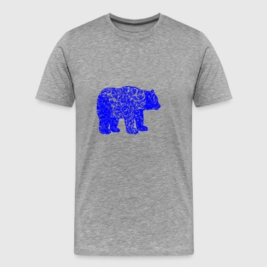 GIFT - BEAR BLUE - Men's Premium T-Shirt