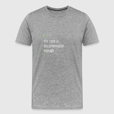 Software documentation developer present gift - Men's Premium T-Shirt