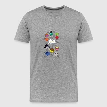 The Subatomic Particles - Men's Premium T-Shirt