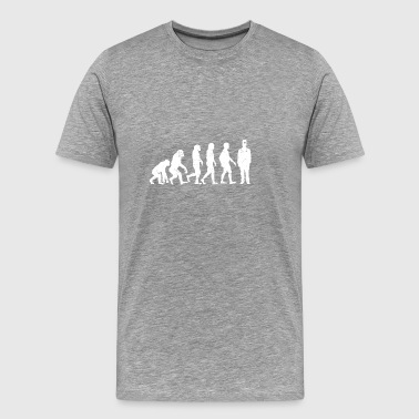 Funny Evolution Surgeon T-shirt - Men's Premium T-Shirt