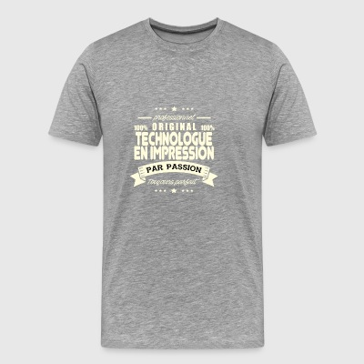Original Printing Technologist - Men's Premium T-Shirt