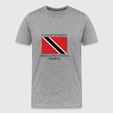 Trinidad Port of Spain Mission Called to Serve - Men's Premium T-Shirt