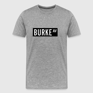Burke Avenue New York City - Men's Premium T-Shirt