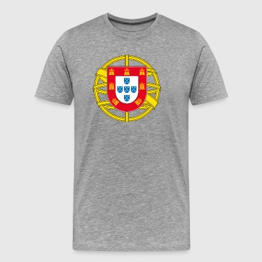 Portugal Brasão - Men's Premium T-Shirt
