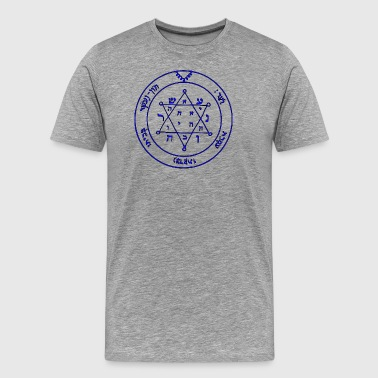 Second Pentacle of Jupiter from Key of Solomon - Men's Premium T-Shirt