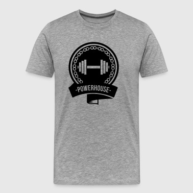 powerhouse - Men's Premium T-Shirt