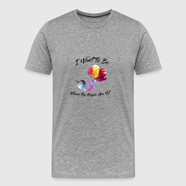 Watercolor Mermaid - Men's Premium T-Shirt