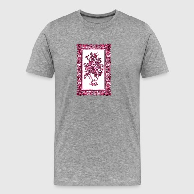 Flowers in Frame - Men's Premium T-Shirt