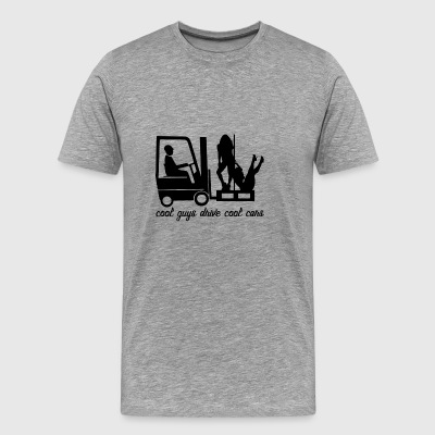 fork lift truck - Men's Premium T-Shirt