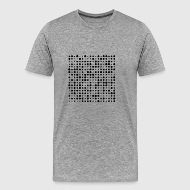 polka dot shirt - Men's Premium T-Shirt