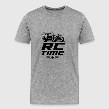 RC Time Radio Controlled Racing Enthusiasts Sports - Men's Premium T-Shirt
