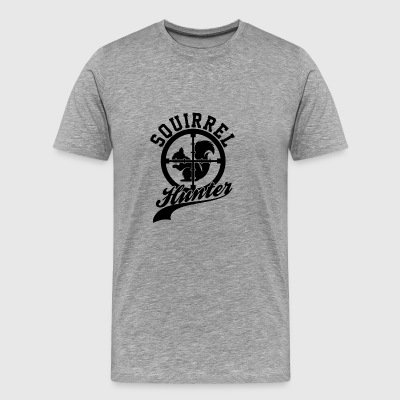 Squirrel Hunter Target Hunting Outdoor Game Sports - Men's Premium T-Shirt