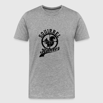 Target Squirrel Hunter - Men's Premium T-Shirt
