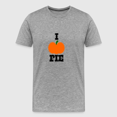 I Pumpkin Pie | Pumpkin Favorite | I love Pie - Men's Premium T-Shirt