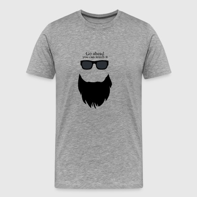 go ahead you can touch it - Men's Premium T-Shirt