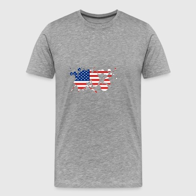 Fourth of July | Celebrate Independence Day - Men's Premium T-Shirt
