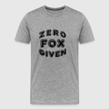 Zero Fox - Men's Premium T-Shirt