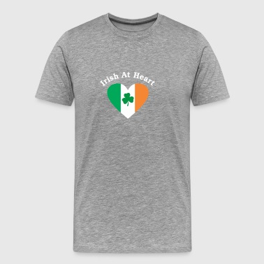 Irish at my heart - Men's Premium T-Shirt