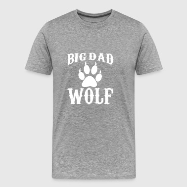 Big Dad Wolf ( Big Wolf ) Outdoor Sports - Men's Premium T-Shirt