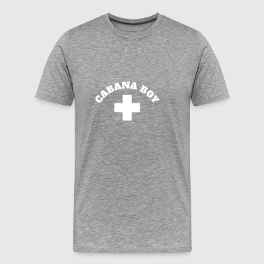 Cabana Boy ( Cabana Boy with a Cross) - Men's Premium T-Shirt