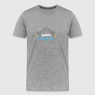 Happy Camper - Gift - Shirt - Men's Premium T-Shirt