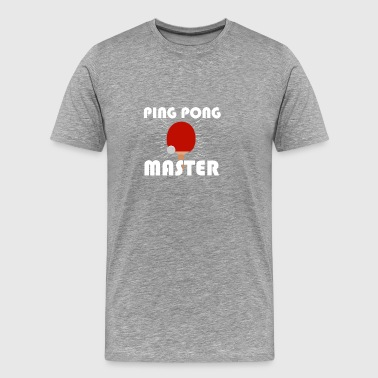 Pingpong Gifts and Table Tennis Shirt - Men's Premium T-Shirt