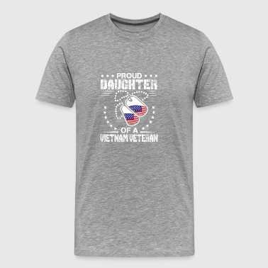 Proud Daughter Of A Vietnam Veteran Vietnam Vetera - Men's Premium T-Shirt