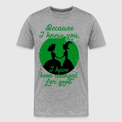 Because I Knew You. Wicked. - Men's Premium T-Shirt