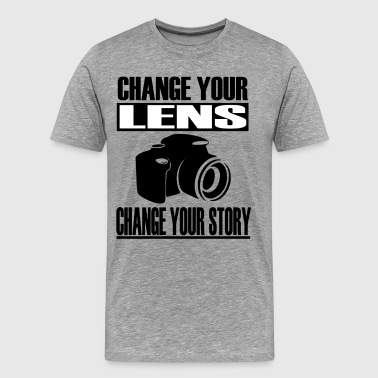 Change your lens - Men's Premium T-Shirt