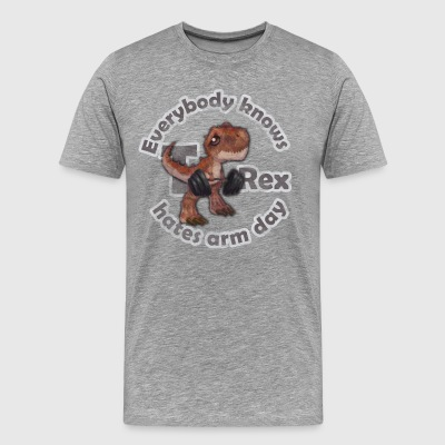 Everybody Knows T-Rex - Men's Premium T-Shirt