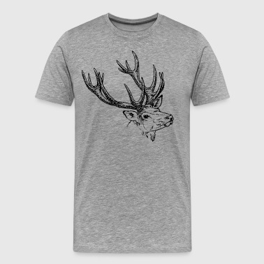 Reindeer - Men's Premium T-Shirt