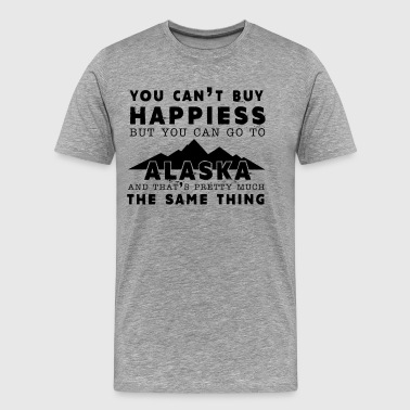 Happiness And Alaska Shirt - Men's Premium T-Shirt