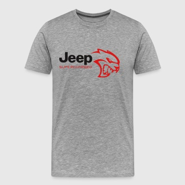 JEEP HELLCAT SUPERCHARGED - Men's Premium T-Shirt