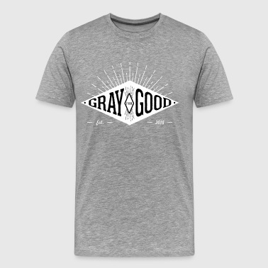 Gray for Good Diamind Applique Original - Men's Premium T-Shirt